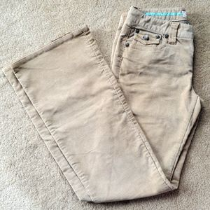 Aeropostale corduroy pants size 3/4